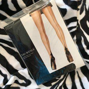 #9132 Leg Ave Spandex Sheer Cuban Heel Pantyhose